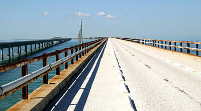 Photograph - 7 Mile Bridge by Mary Haber