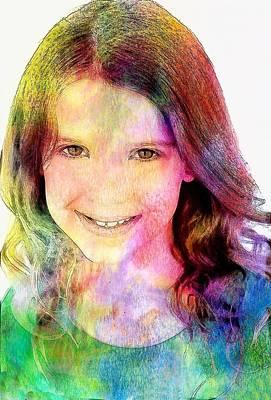 Quadro Digital Art - Millie Brown Poster by Best Actors