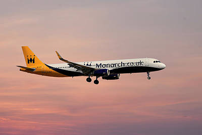 Photograph - Monarch Airlines Airbus A321-231 by Smart Aviation