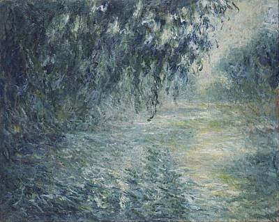 Seine Painting - Morning On The Seine by Claude Monet