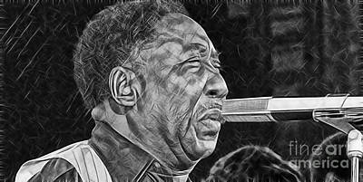 Chicago Mixed Media - Muddy Waters Collection by Marvin Blaine