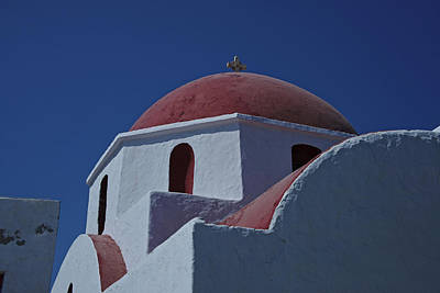 Photograph - Mykonos Greece by Cendrine Marrouat