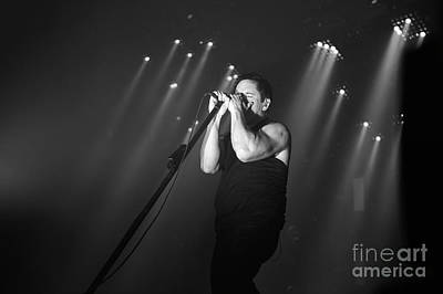 Photograph - Nine Inch Nails by Jenny Potter