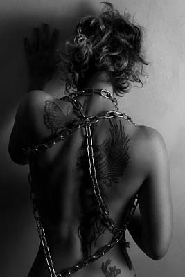 Woman Photograph - Nude by Valerio Poccobelli
