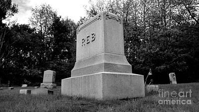 Photograph - Odd Fellows Cemetery by Ben Schumin