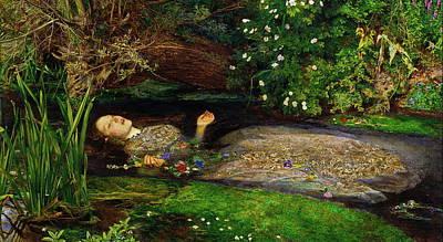 Painting - Ophelia by John Everett Millais