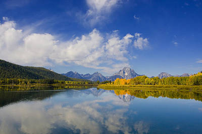 Photograph - Oxbow Bend by Mark Smith