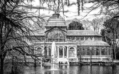 Landmark Digital Art - Palacio De Cristal by Super Lovely