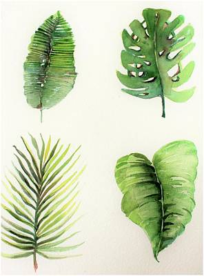 Palms Art Print by Mindy Newman