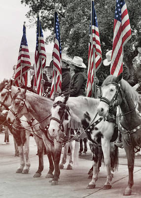 Photograph - Americana Parade Ready by JAMART Photography