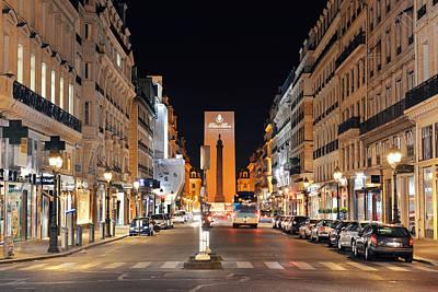 Photograph - Paris Street View by Songquan Deng