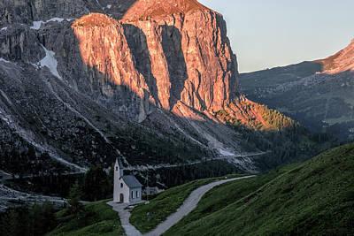 Photograph - Passo Gardena - Dolomiti by Joana Kruse