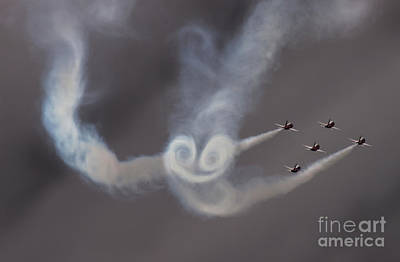 Photograph - Patrouille Suisse by Angel Tarantella