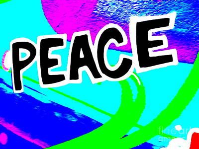 Digital Art - Peace by Ed Weidman