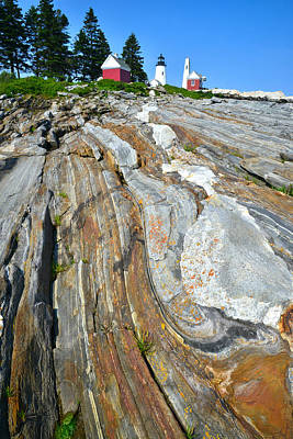 Photograph - Pemaquid Lighthouse by Ray Mathis