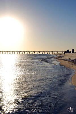 Terminate Photograph - Pensacola Beach by Thea Wolff