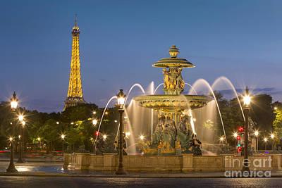 Photograph - Place De La Concorde  by Brian Jannsen