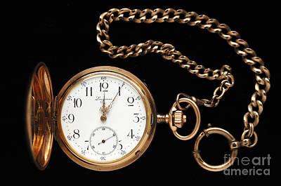 Longines Photograph - Pocket Watch by Helmut Meyer zur Capellen