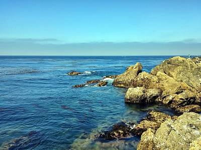 Photograph - Point Lobos Coast by Richard Yates