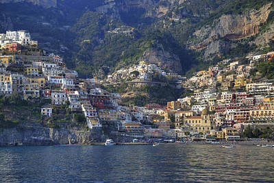 Mediterranean Sea Wall Art - Photograph - Positano - Amalfi Coast by Joana Kruse