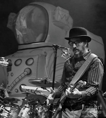 Primus - Les Claypool - Bonnaroo Music Festival Art Print by David Oppenheimer
