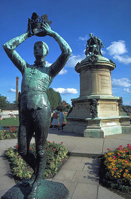 Photograph - Prince Hal In Stratford by Carl Purcell