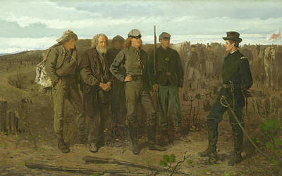 Painting - Prisoners From The Front by Winslow Homer