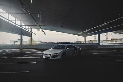 Car Photograph - R8 by Chris M