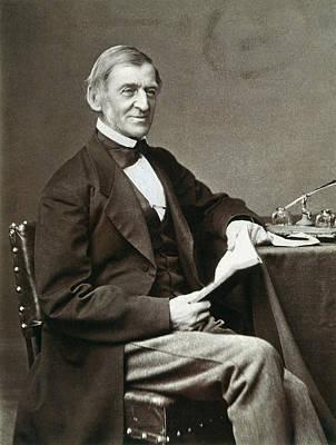Ralph Waldo Emerson Print by Granger