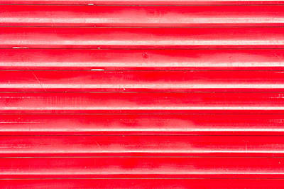Metallic Sheets Photograph - Red Metal by Tom Gowanlock