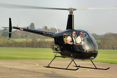 Photograph - Robinson R22 Beta by Tim Beach