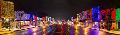 Festival Photograph - Rochester Christmas Light Display by Twenty Two North Photography