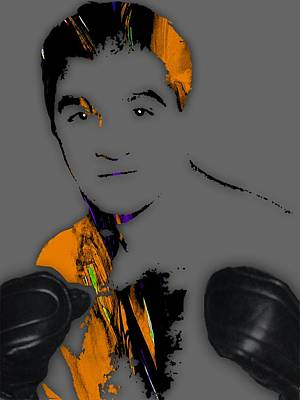 Rocky Marciano Collection Art Print by Marvin Blaine