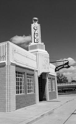 Photograph - Route 66 - Conoco Tower Station by Frank Romeo