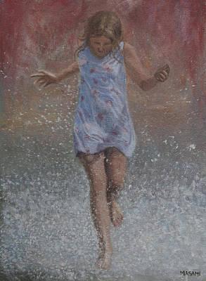 Painting - run by Masami Iida