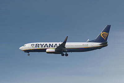 Ryanair Boeing 737-8as  Art Print