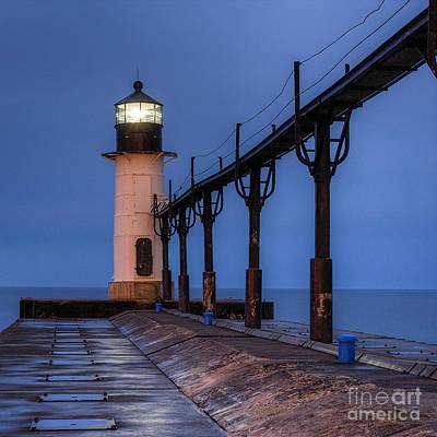 Saint Joseph, Michigan Lighthouse Art Print by Twenty Two North Photography