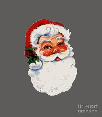 Occult Digital Art - Santa Claus by Frederick Holiday