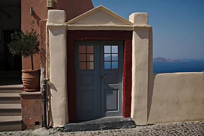 Photograph - Santorini Greece by Cendrine Marrouat