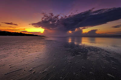 Photograph - Seascape Of Hilton Head Island by Peter Lakomy