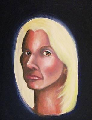 Self Portrait Art Print by Suzanne  Marie Leclair
