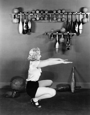 Unidentified Photograph - Silent Still: Exercise by Granger