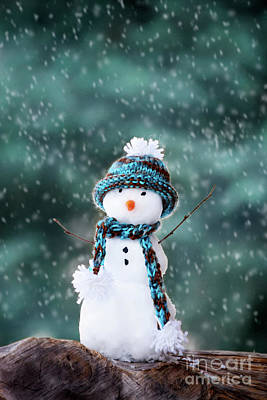 Photograph - Snowman by Kati Molin