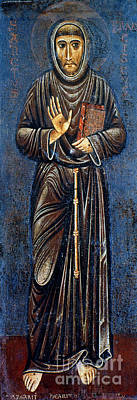 13th Century Painting - St. Francis Of Assisi by Granger