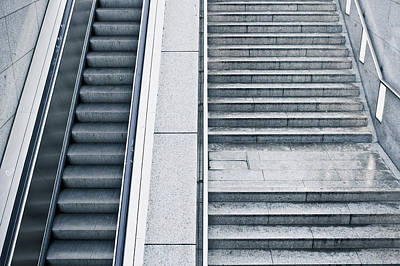 Terminal Photograph - Stairs by Tom Gowanlock