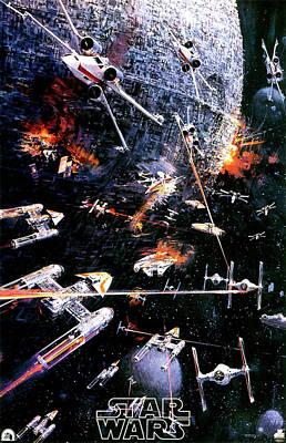Star Alliance Digital Art - Star Wars Episode Iv - A New Hope 1977 by Fine Artist