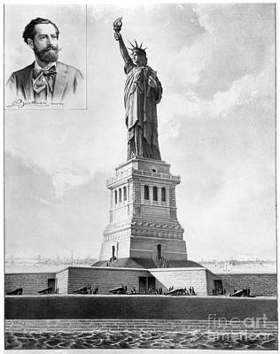 Statue Of Liberty, 1886 Art Print by Granger
