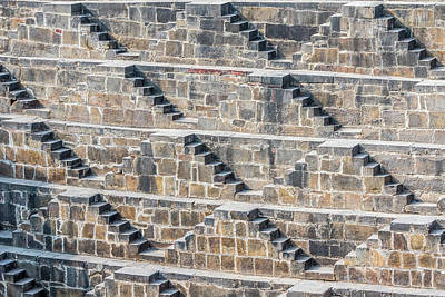 Photograph - Steps At Chand Baori by Nila Newsom