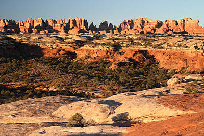 Sunrise Photograph - Sunrise At The Needles In Canyonlands National Park by Pierre Leclerc Photography
