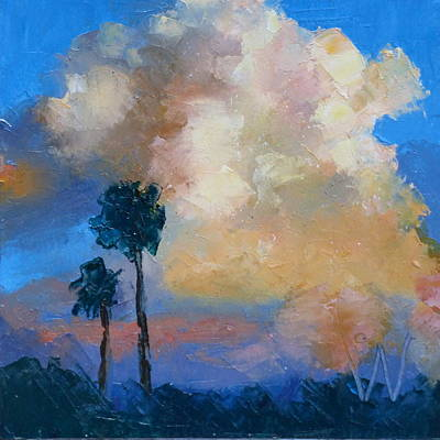Painting - Sunset by Susan Woodward